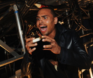 breezy, chris brown, and grammy image