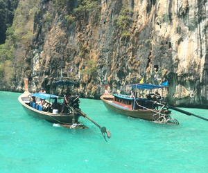 beautiful, blue, and thailand image