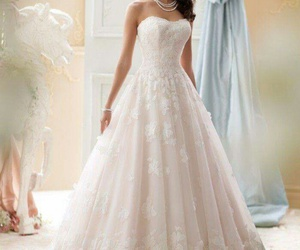 wedding dress, fashion, and couture gowns image