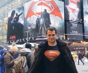 Henry Cavill, superman, and clark kent image