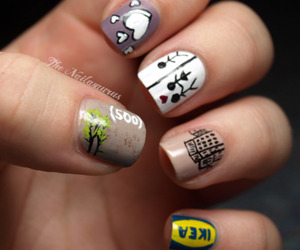 500 Days of Summer and nails image