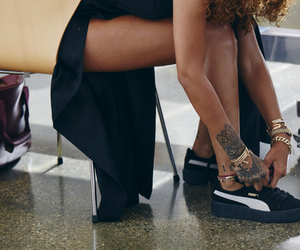 puma, rihanna, and tattoo image