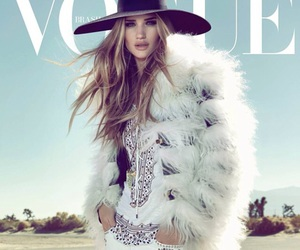 model, rosie huntington-whiteley, and vogue image