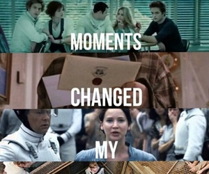 twilight, harry potter, and divergent image