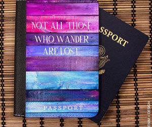 etsy, passport case, and passport holder image