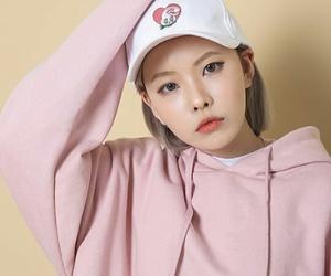 asian, cap, and girl image