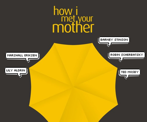 Barney Stinson, how i met your mother, and lily aldrin image