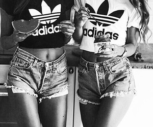 adidas, summer, and nutella image