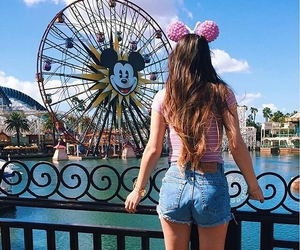 disney, girl, and summer image