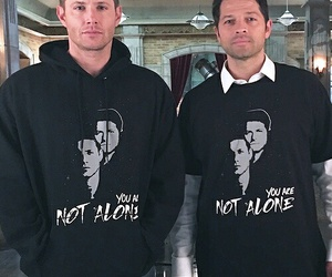 supernatural, dean winchester, and misha collins image