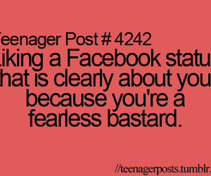 facebook, fearless, and funny image
