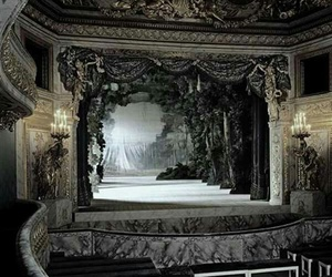 theater, dark, and theatre image