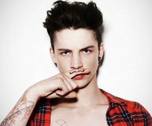 boy, Ash Stymest, and tattoo image
