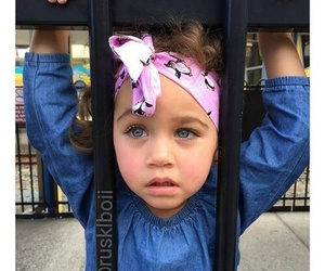 baby, blue eyes, and toddler image