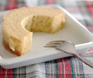cake, fork, and food image