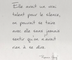 french, silence, and talent image