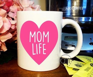 mother's day, baby shower, and coffee lover image
