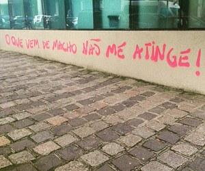 brasil, feminism, and grafite image