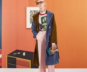 blonde, fall, and fashion image