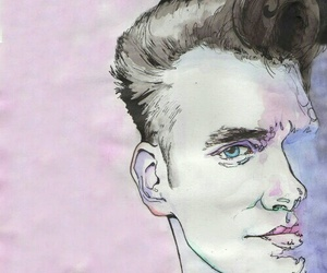 art, morrissey, and the smiths image