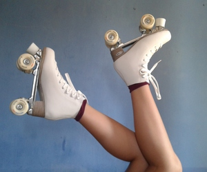 pretty, roller, and patines image