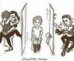 larry, ziam, and one direction image
