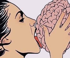 brain, lick, and mind image