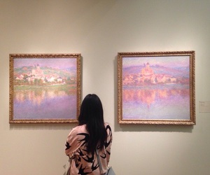 aesthetic, paintings, and pink image
