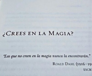 magia, believe, and frases image