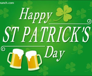 beer, irish, and trebol image
