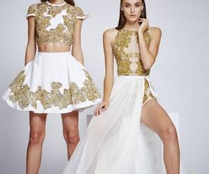 dress, Zuhair Murad, and luxury image