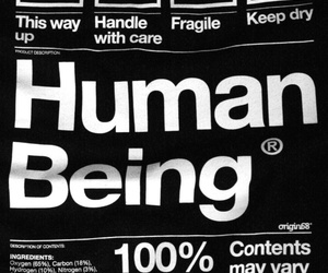 human and human being image