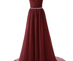 dress, clothes, and prom dress image