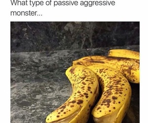 funny, banana, and haha image