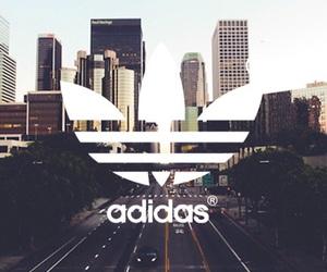 adidas, city, and wallpaper image