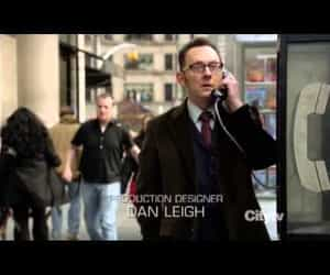 person of interest, john reese, and finch image