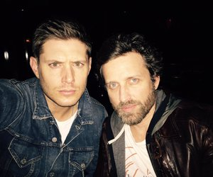 Jensen Ackles, supernatural, and rob benedict image