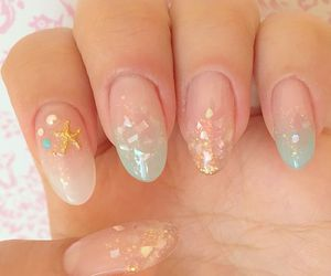 nail, pretty, and feshfen image
