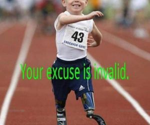 excuse and fitness image