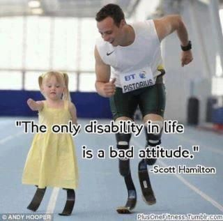 quote and disability image
