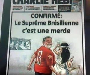 brasil, vergonha, and charlie hebdo image