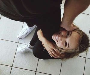 converse, love, and smile image