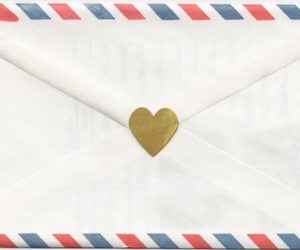 Letter, cute, and heart image