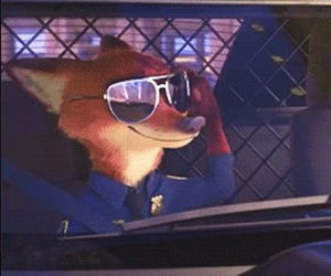 car, cool, and fox image