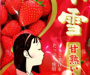 candy, かわいい, and strawberry image