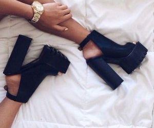 big, fashion, and heel image