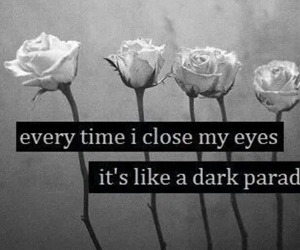 dark, paradise, and flowers image