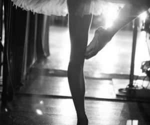 ballerina, beautiful, and dance image
