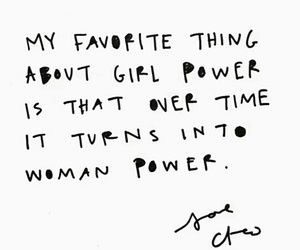power, quote, and woman image