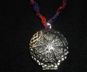 crochet, etsy, and crochet necklace image